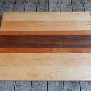 Flat Racing Stripe Cutting Board