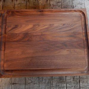 16x20 Trough Walnut Cutting Board