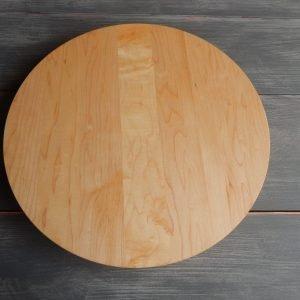 "18"" Round Cutting Board No Trough"
