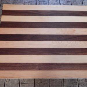 Flat Maple/Walnut Stripe Cutting Board