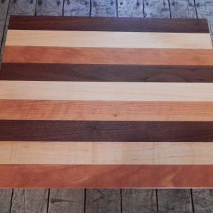 Tricoleur Cutting Board