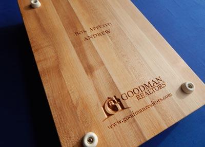 Real estate closing gift for Goodman Realtors